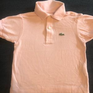 LACOSTE Toddler Polo Shirt Size 2- Fits 9-12 Month